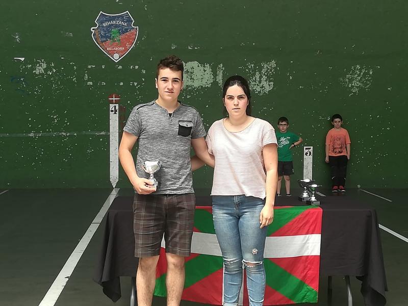 Garaiburu champion de Gipuzkoa