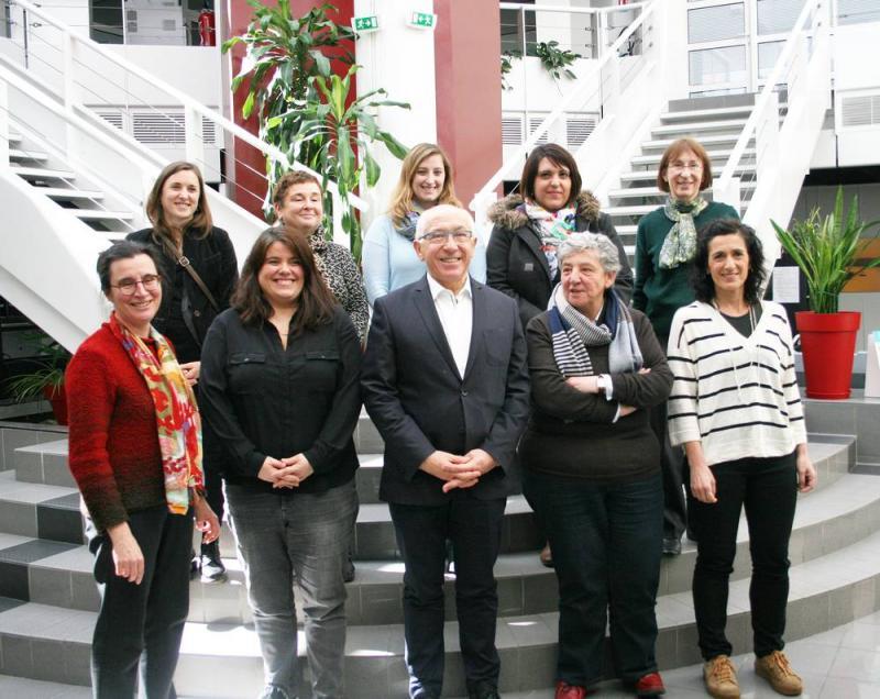 Tolosa en exemple lors de la signature de la Charte Européenne pour l'égalité à Baiona